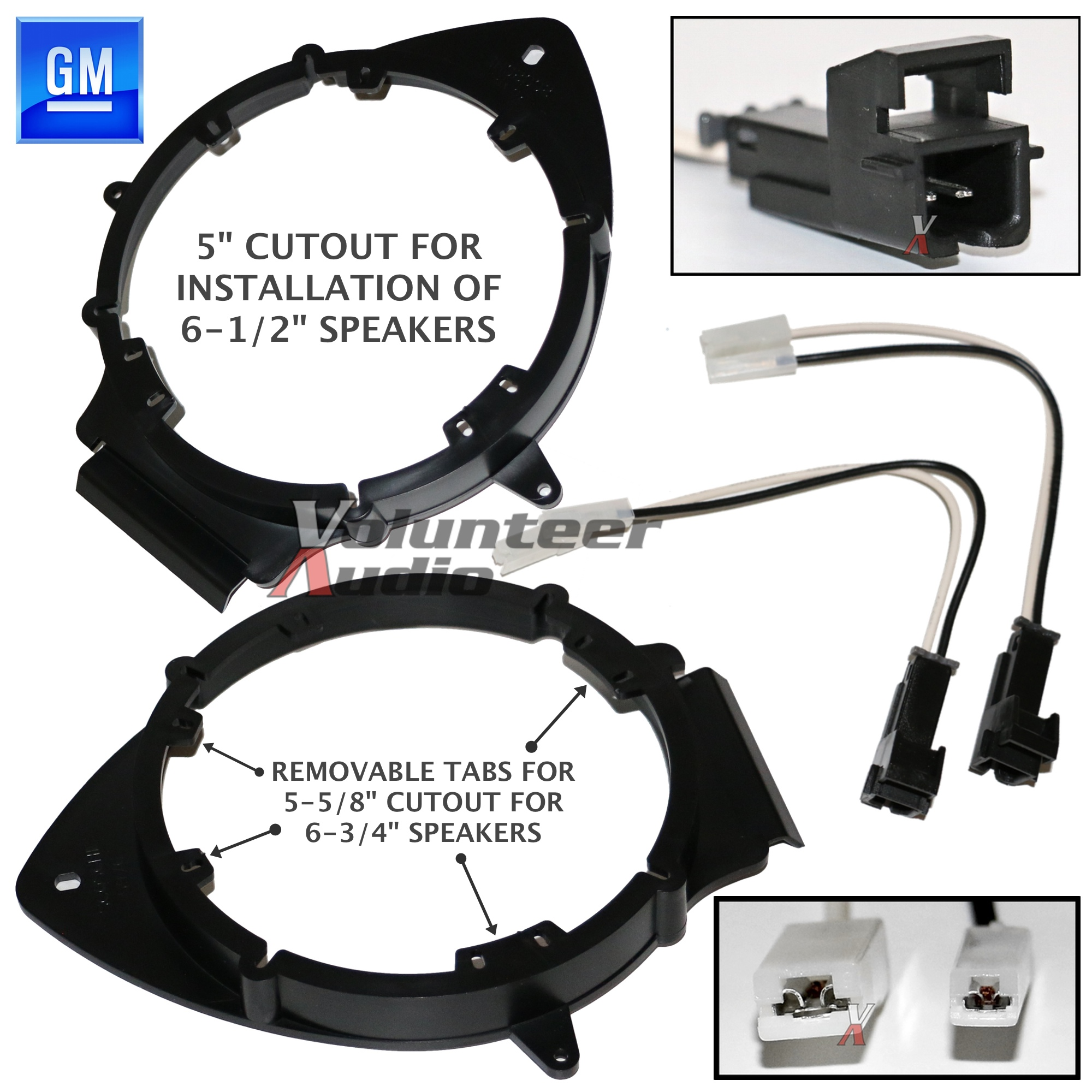 bkgmsb356 2006 up chevrolet 6 1 2 034 or 6 3 4 034 speaker main image