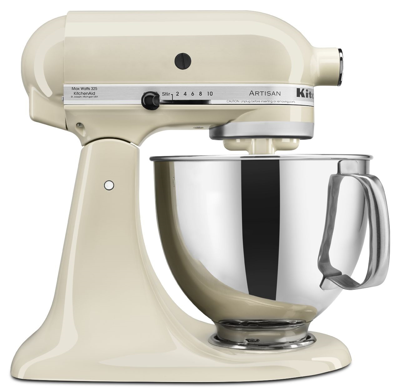 White Kitchenaid kitchenaid® artisan® series 5 qt. tilt head stand mixer
