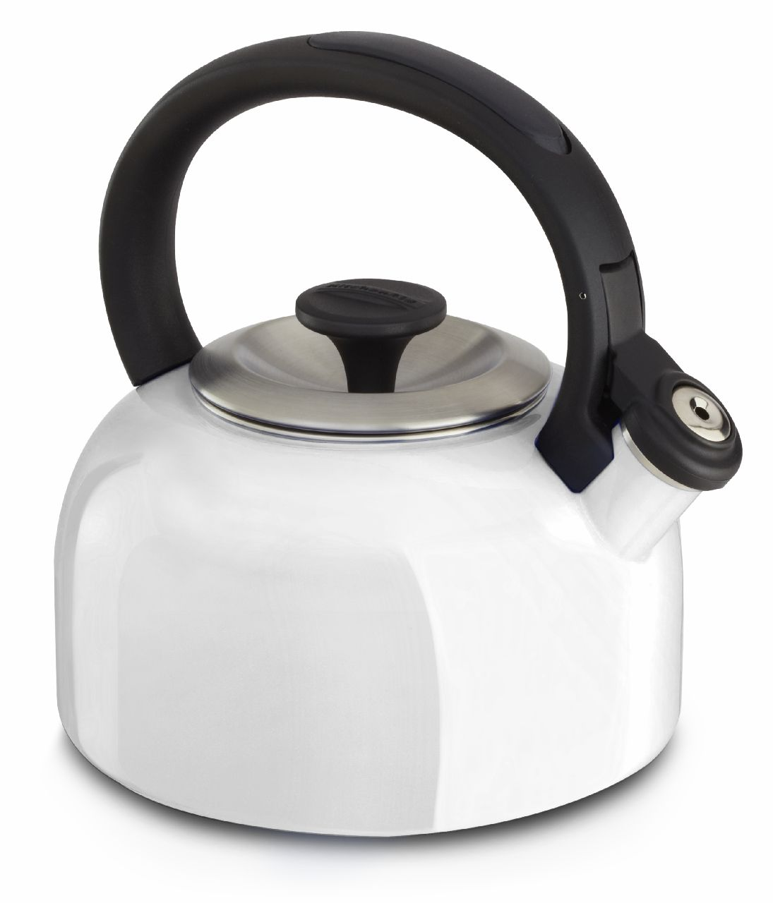 KitchenAid®20Quart Kettle with Full Handle, White, KTEN20BNWH  DealTrend -> Kitchenaid Jug Kettle