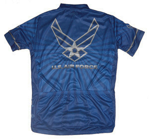 Primal Wear U.S. Air Force USAF cycling jersey