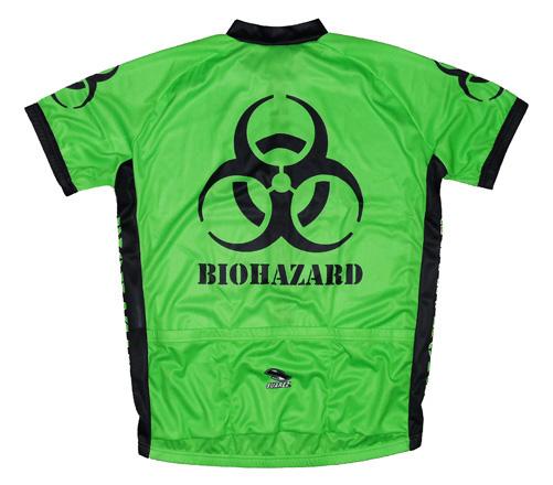 Suarez Biohazard Green Cycling Jersey