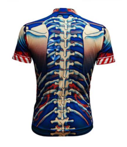 Primal Wear Bone Collector Skeleton Men's Cycling Jersey