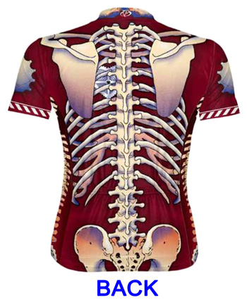 Primal Wear Bone Collector Skeleton Men's Cycling Jersey