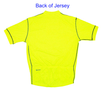 Canari P2 Paceline Cycling Jersey back