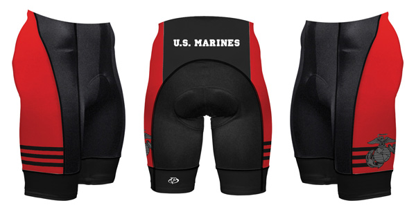 Primal Wear U.S. Marine Corps Vintage Cycling Shorts