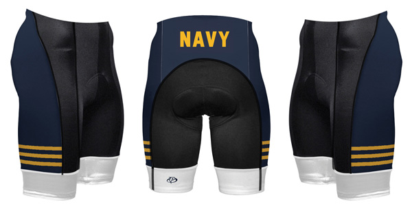 Primal Wear U.S. Navy Vintage Cycling Shorts