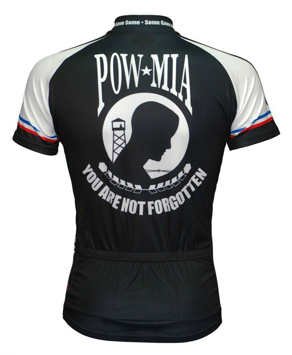 Primal Wear U.S. Military POW/MIA cycling jersey