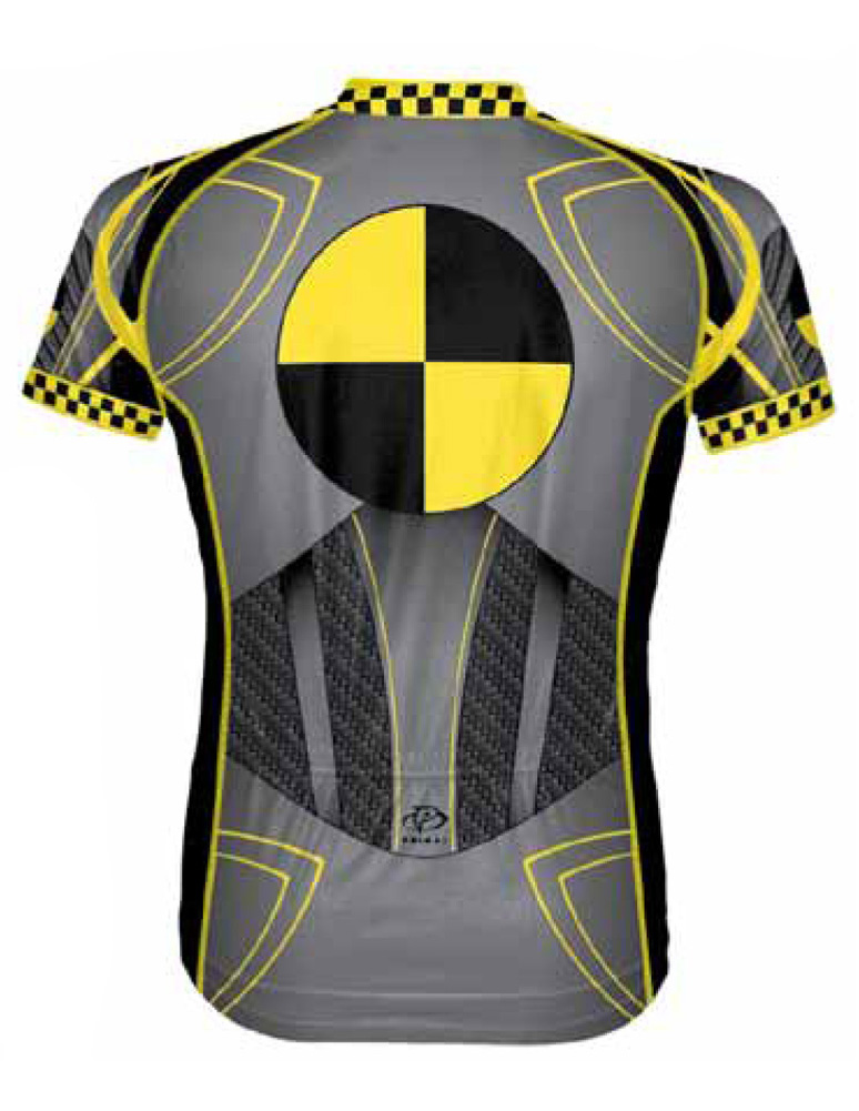Primal Wear Crash Test Dummy Cycling Jersey