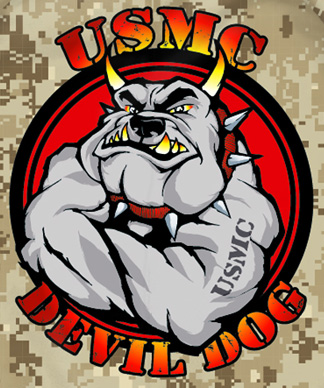 Primal Wear Devil Dog Camo U.S. Marines Marine Corps ...