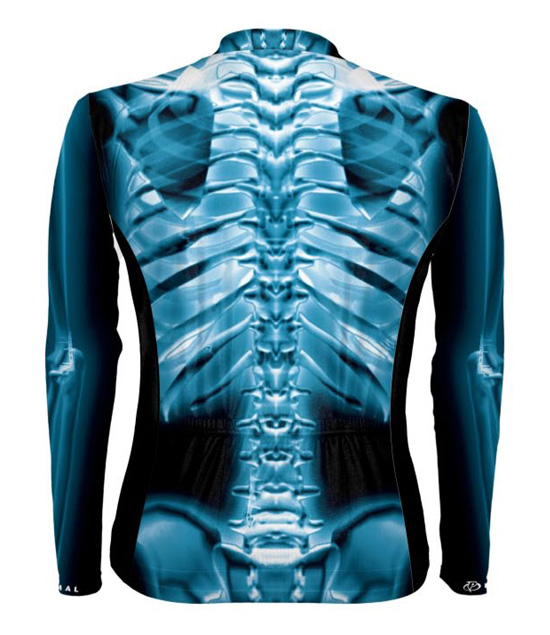 Primal Wear X-RAY Men's Cycling Jersey Long Sleeve