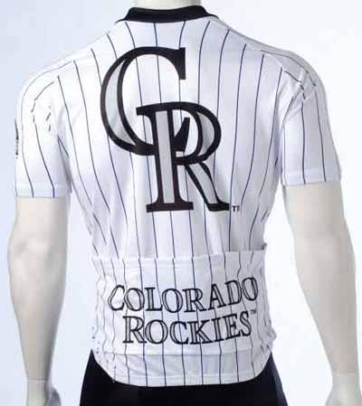 Colorado Rockies Cycling Jersey back