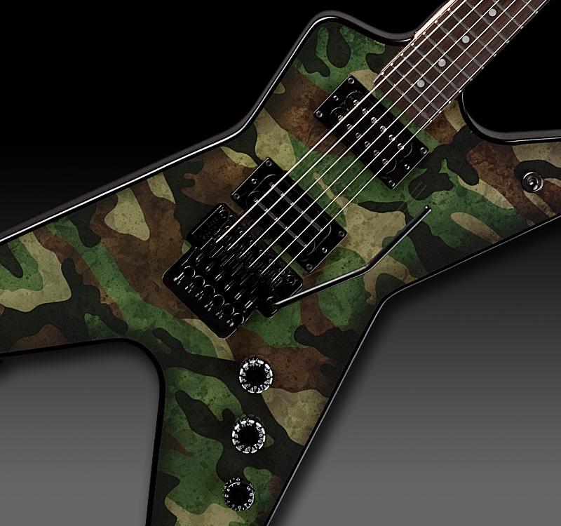 dimebag darrell guitar camo - photo #34