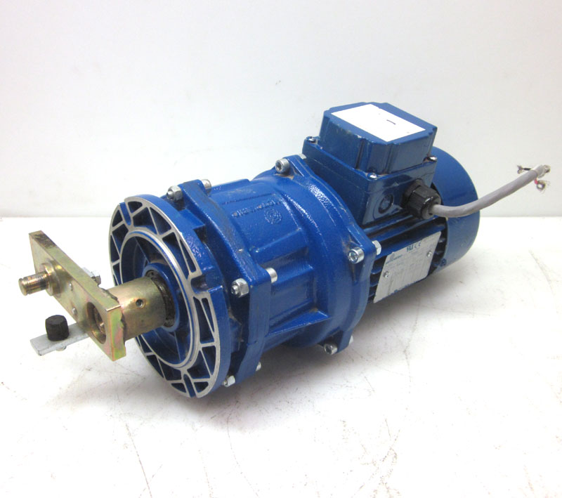 Motovario t63a4 3 ph 1 6 hp motor w gear speed reducer 13 for 1 4 hp gear reduction motor