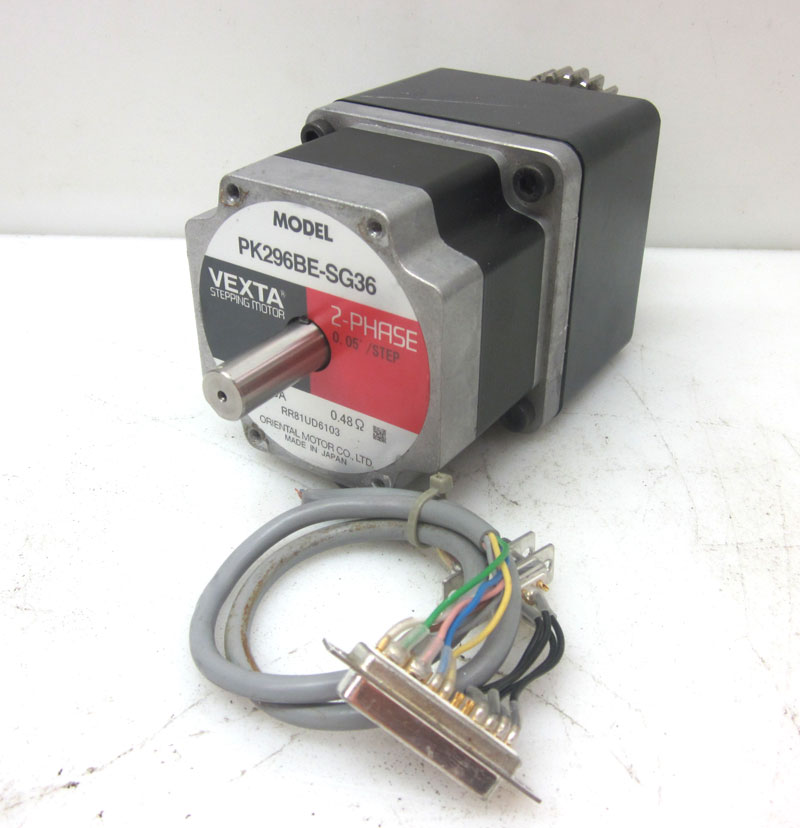 Oriental Vexta Pk296be Sg36 2 Phase Stepping Motor