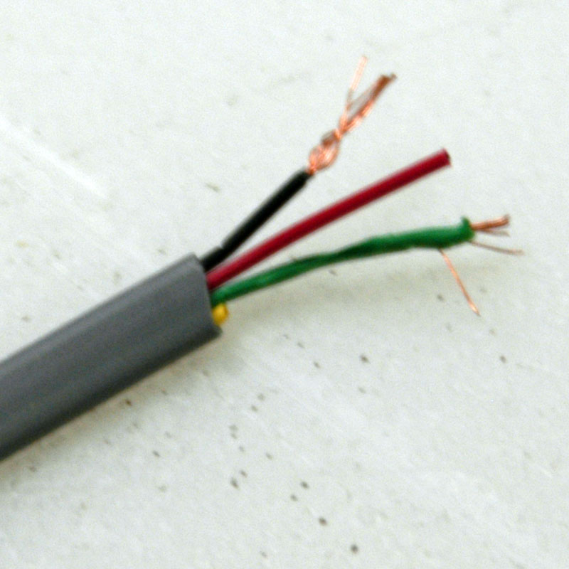 Flat Cable 2 Conductor With Shield : New alpha wire unshielded flat conductor
