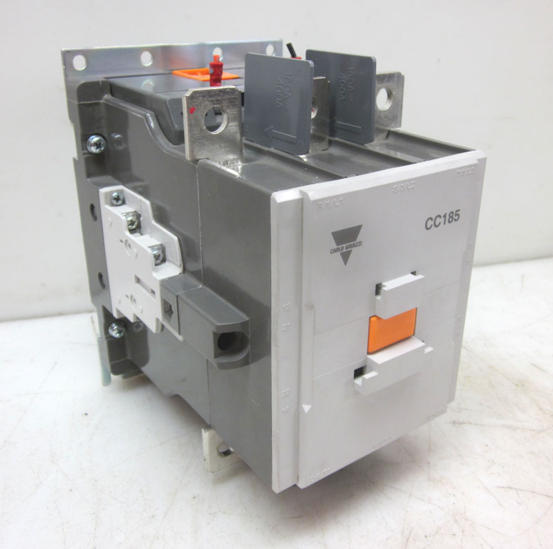 Carlo gavazzi cc185 185 amp 3ph motor starter contactor for 10 hp single phase motor amps