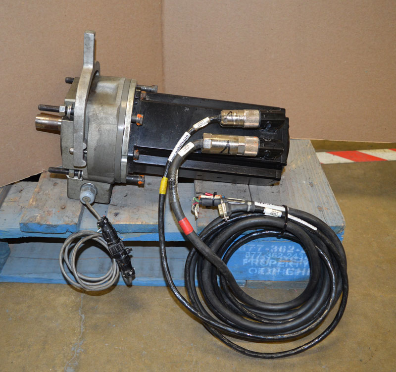 Pacific Scientific Pma44r 2 4kw Vt Vs Servo Motor Kebco Electric Brake 24vdc Ebay