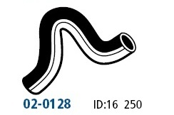 MAZDA-323-BF1052-BF1061-1-6L-85-87-Heater-to-Eng-Hose-02-0128