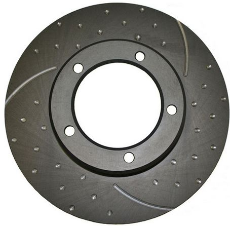 Subaru-BRUMBY-AU-85-93-Front-Drilled-Slotted-RDA-Disc-Brake-Rotors