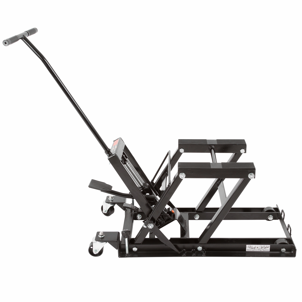 Black Widow Foot-Operated Motorcycle or ATV Lift Jack Stand at Sears.com