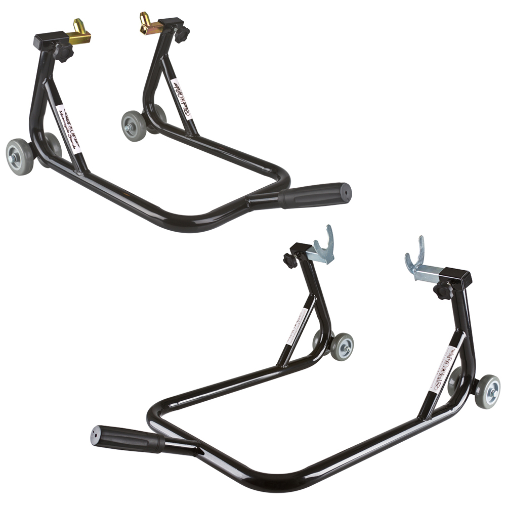 Black Widow BW-06-14 Front & Rear Motorcycle Stand Kit (Pair) at Sears.com