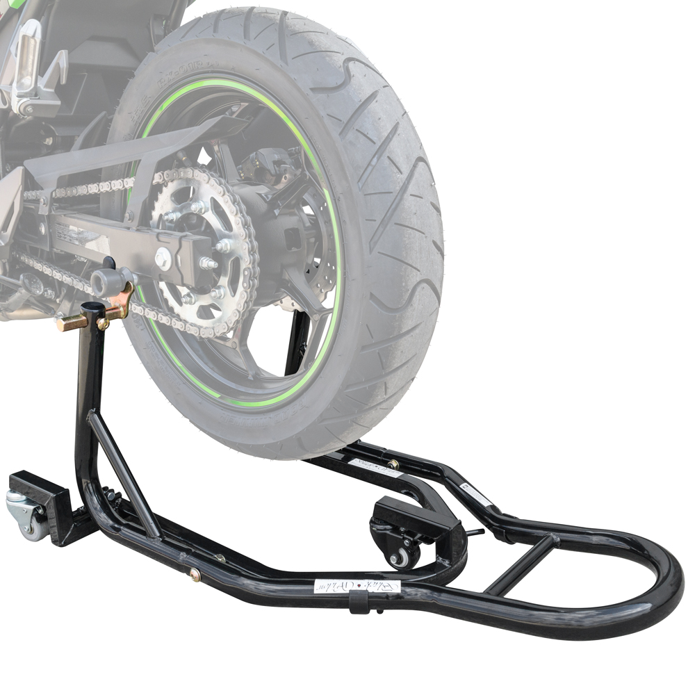 Black Widow Motorcycle Rear Spool and Trolly Stand at Sears.com