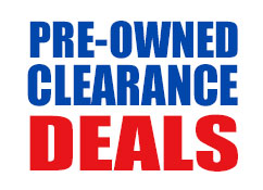 Pre-owned, used, and clearance items.
