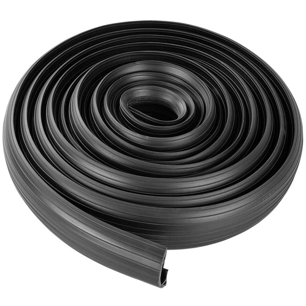 29 5 ft 3 cable wire extension cord drop over floor cover protector ebay. Black Bedroom Furniture Sets. Home Design Ideas