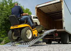 Home and garden loading and hauling solutions