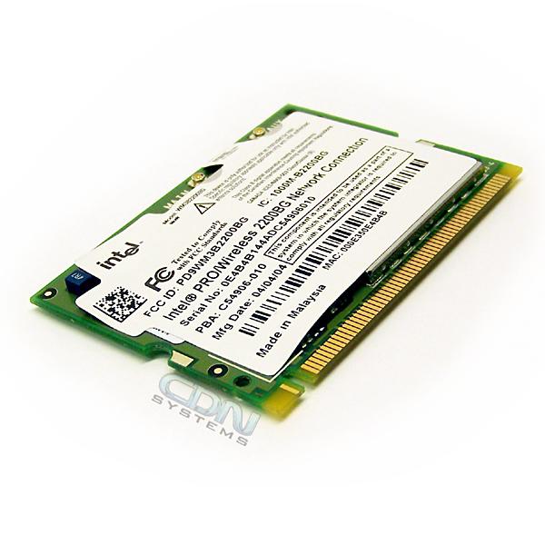 IntelR PRO/Wireless 2200BG Network Connection Drivers
