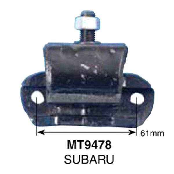 Engine-Mount-For-Subaru-Brumby-1980-1994-1-8L-Rear-LH-RH-MT9478