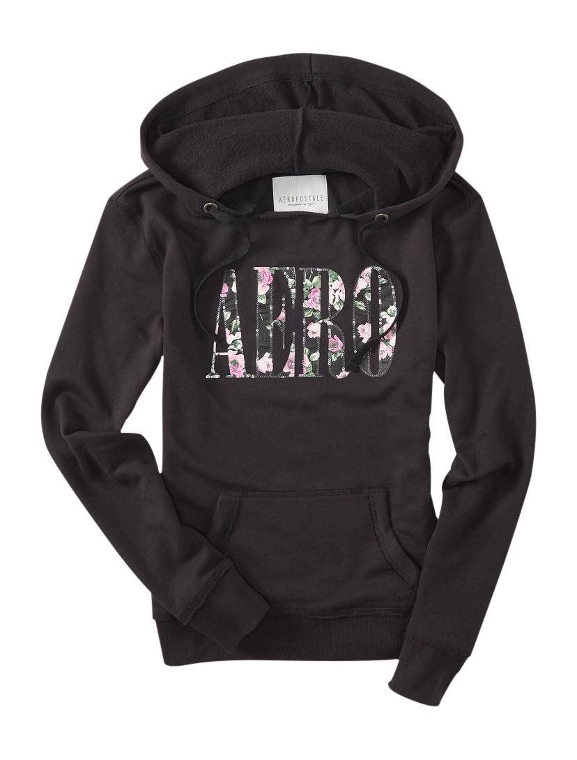 Sequin hoodie