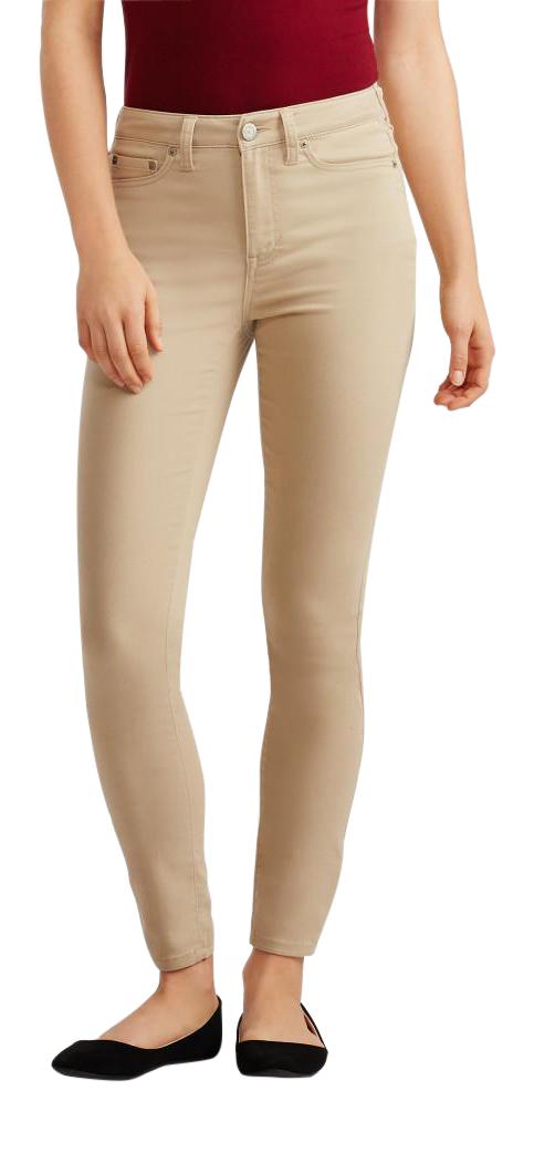 Womens High Waist Skinny Jeans