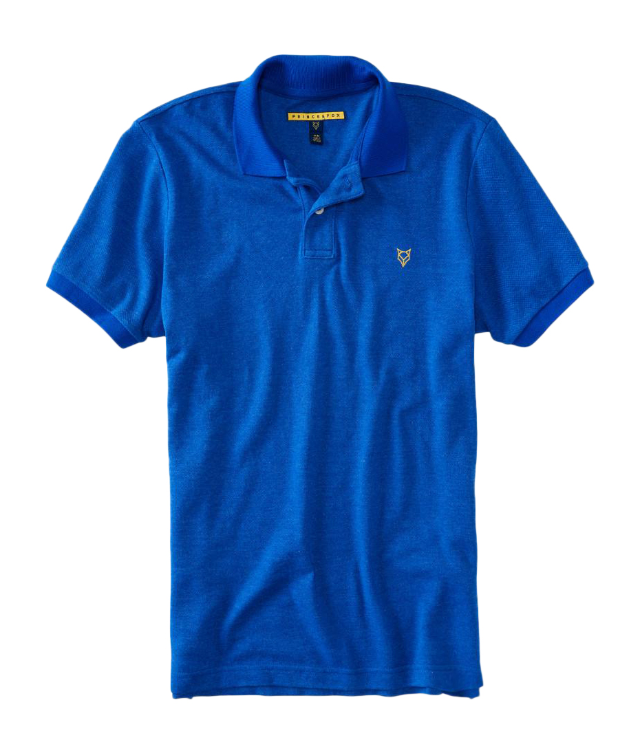 aeropostale mens prince fox faded pique polo shirt ebay. Black Bedroom Furniture Sets. Home Design Ideas