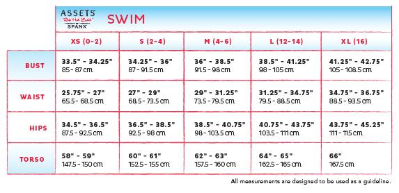 Assets swim size chart voda swim voda violet shimmer envy push up