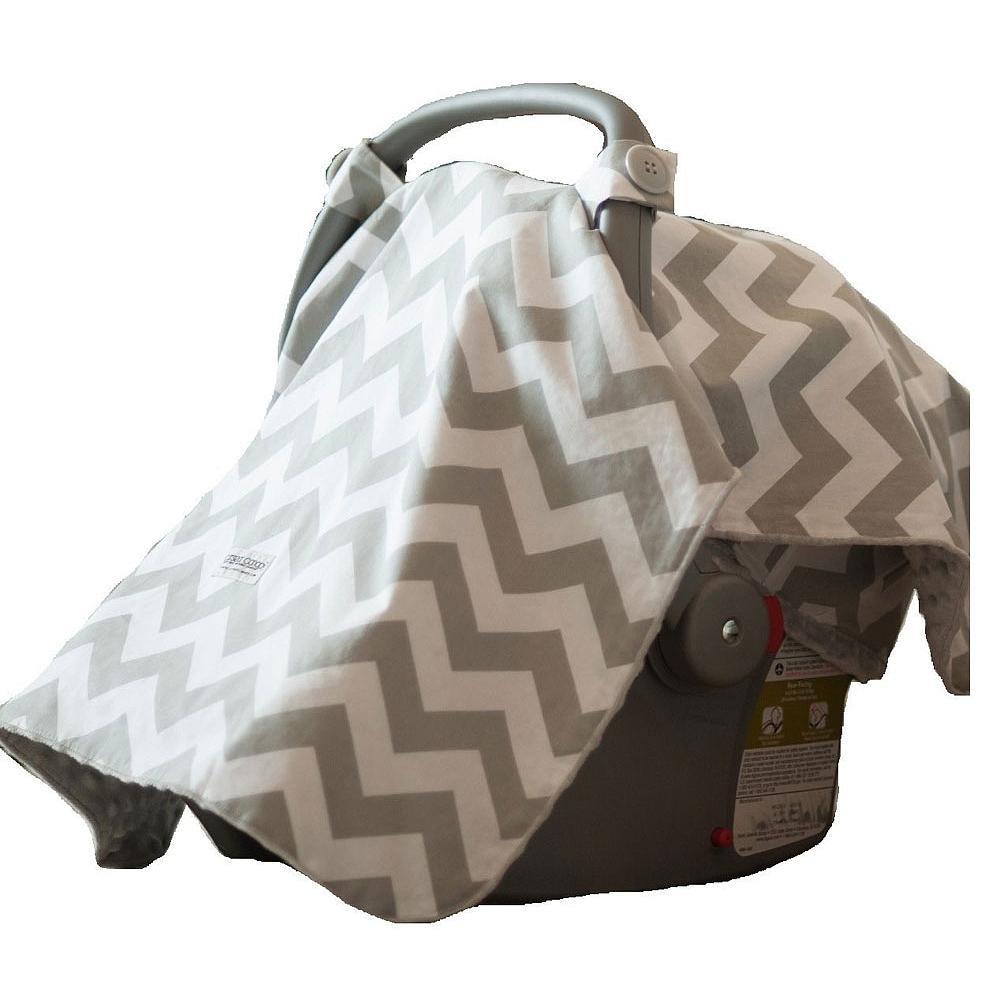 Car Seat Canopy - Chevron