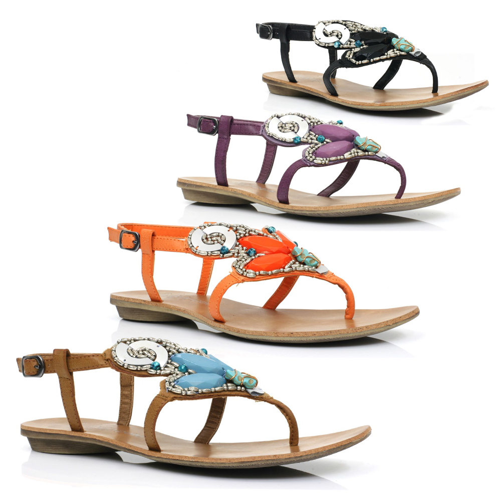Moda-In-Pelle-Narinda-Womens-Gladiators-Sandals-Multiple-Colours