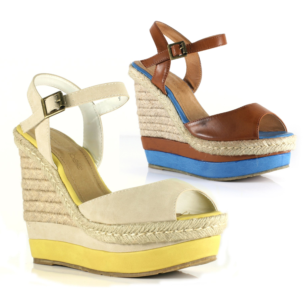 Moda-In-Pelle-Paulette-Womens-Wedge-Sandals-Multiple-Colours