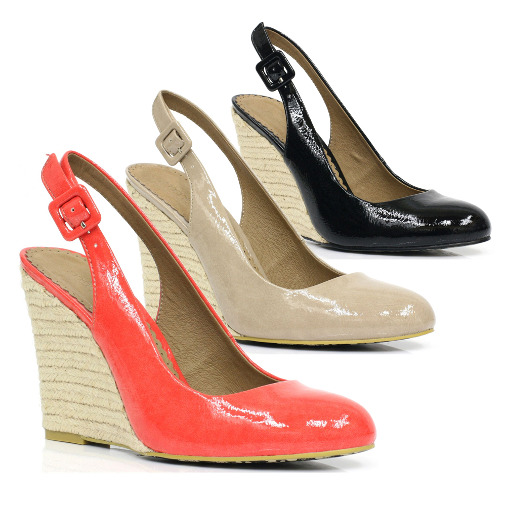 Moda-In-Pelle-Play-Womens-Wedge-Sandals-In-Patent-Multiple-Colours