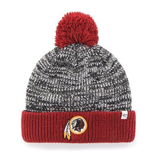 NFL Washington Redskins Women s  47 Trytop Cuff Knit Hat with Pom ... 0969a4583