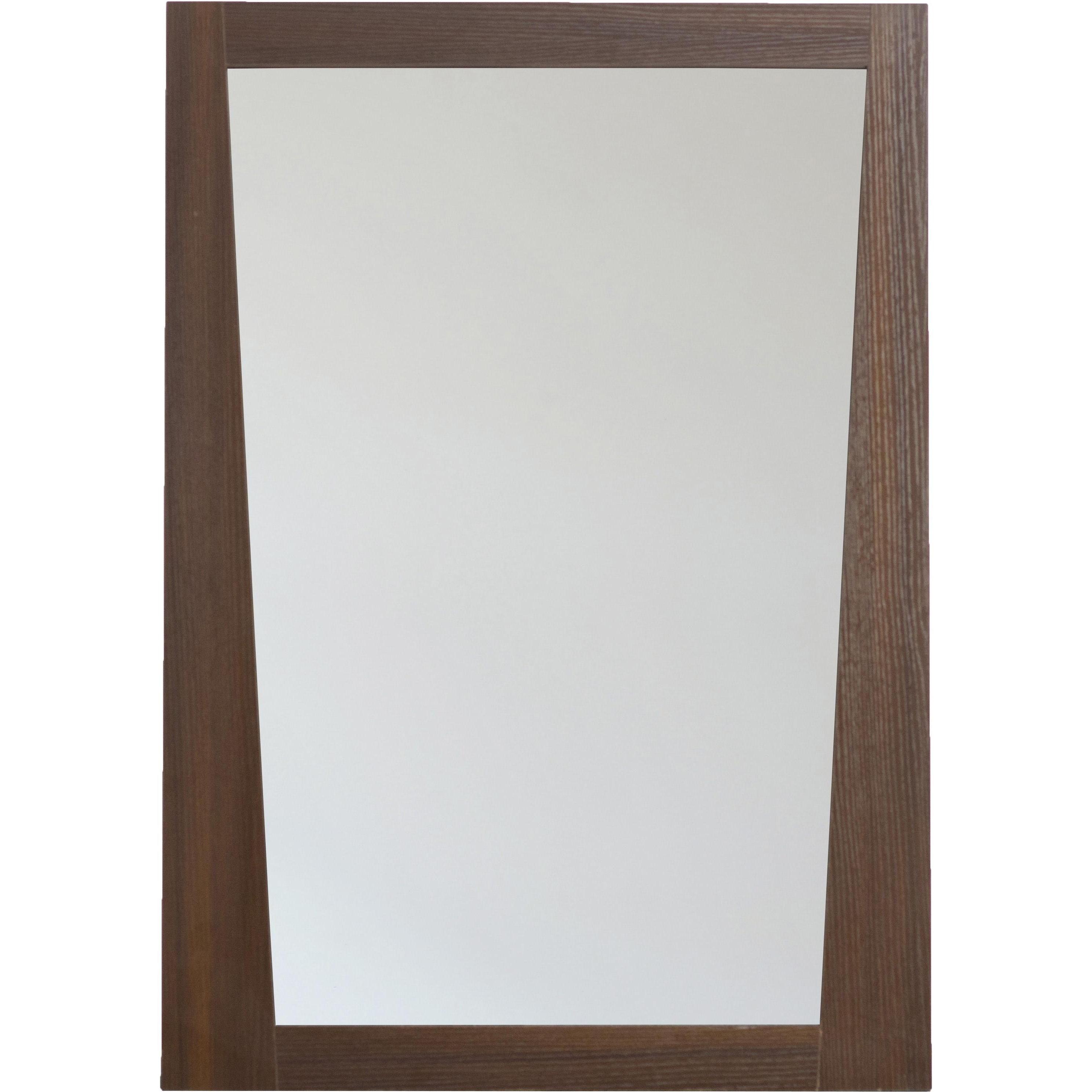 AI-3-1208 Modern Plywood-Melamine Wood Mirror, 24-Inch x 34-Inch ...