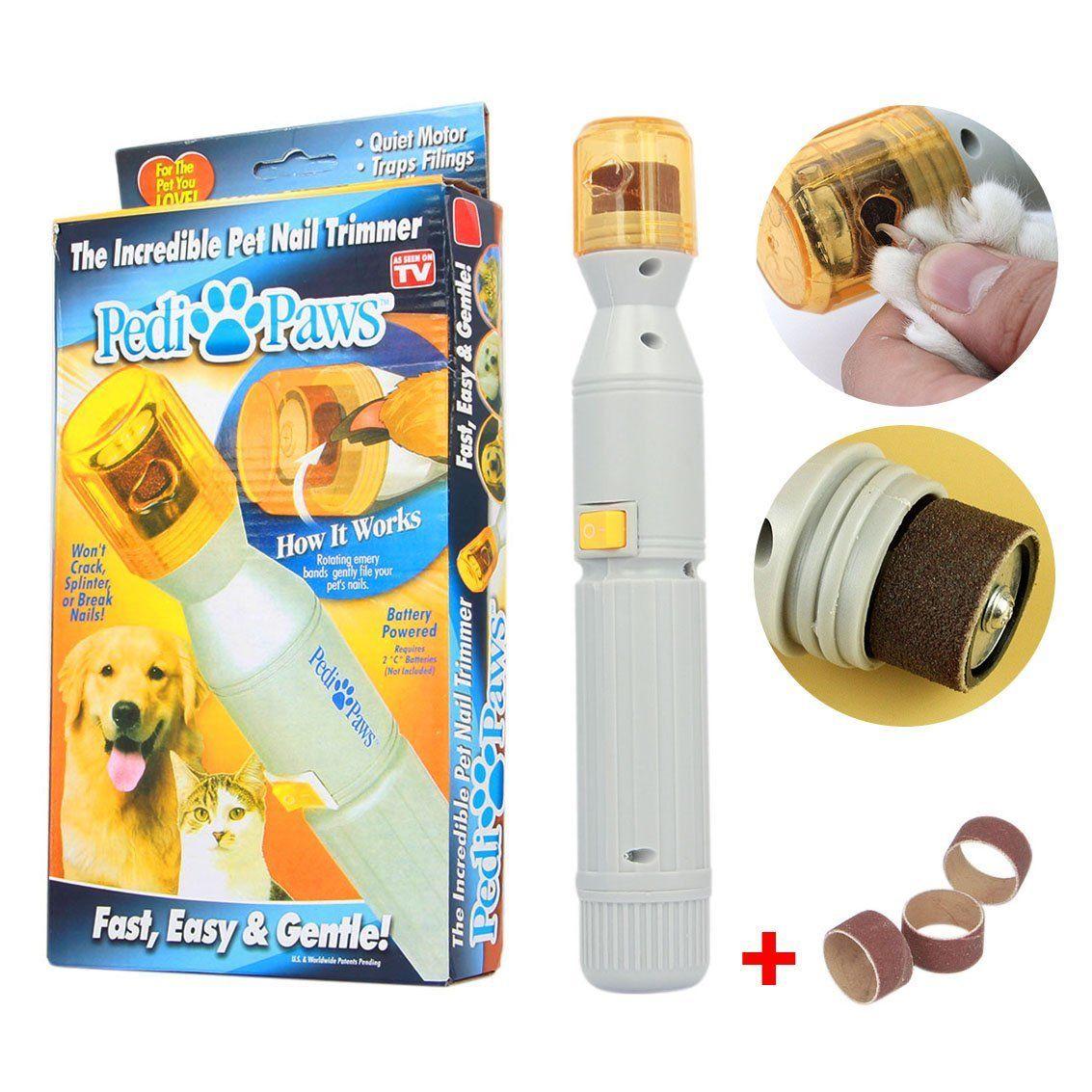 Incredible pet nail trimmer machine PEDI PAWS electric clipper