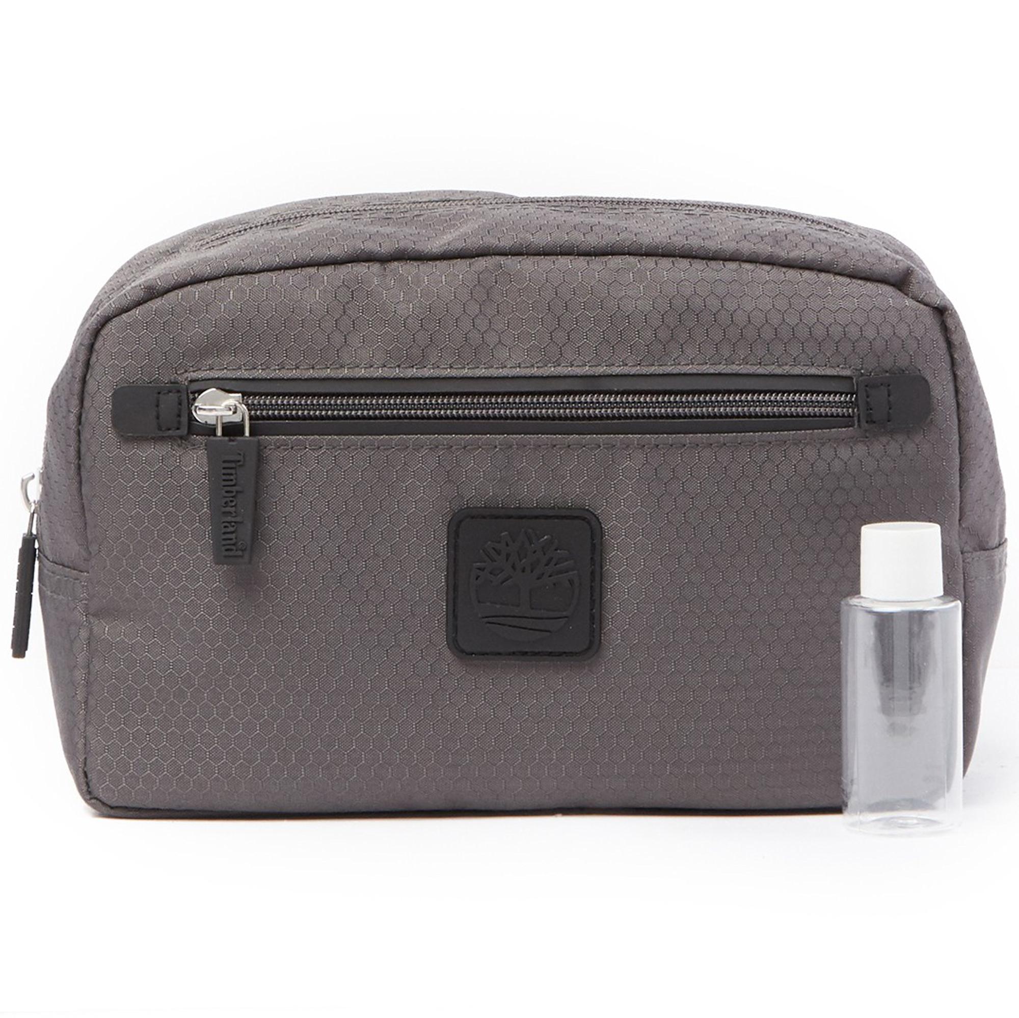 Timberland Mens Shave Kit Organizer Travel Dopp Kit Overnight Toiletry Bag