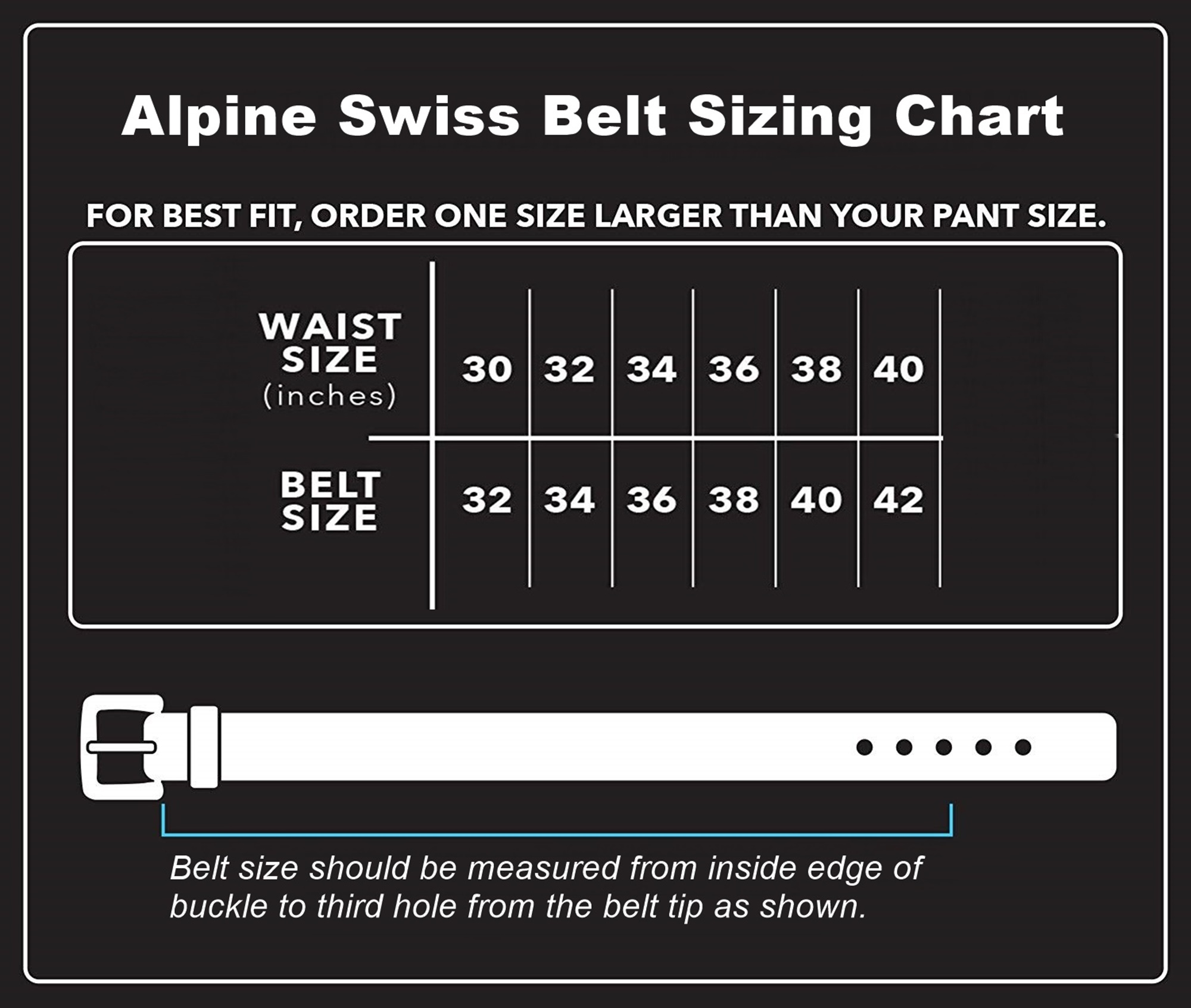 Alpine-Swiss-Mens-Leather-Belt-Slim-1-1-4-Casual-Jean-Dakota-Signature-Buckle thumbnail 11
