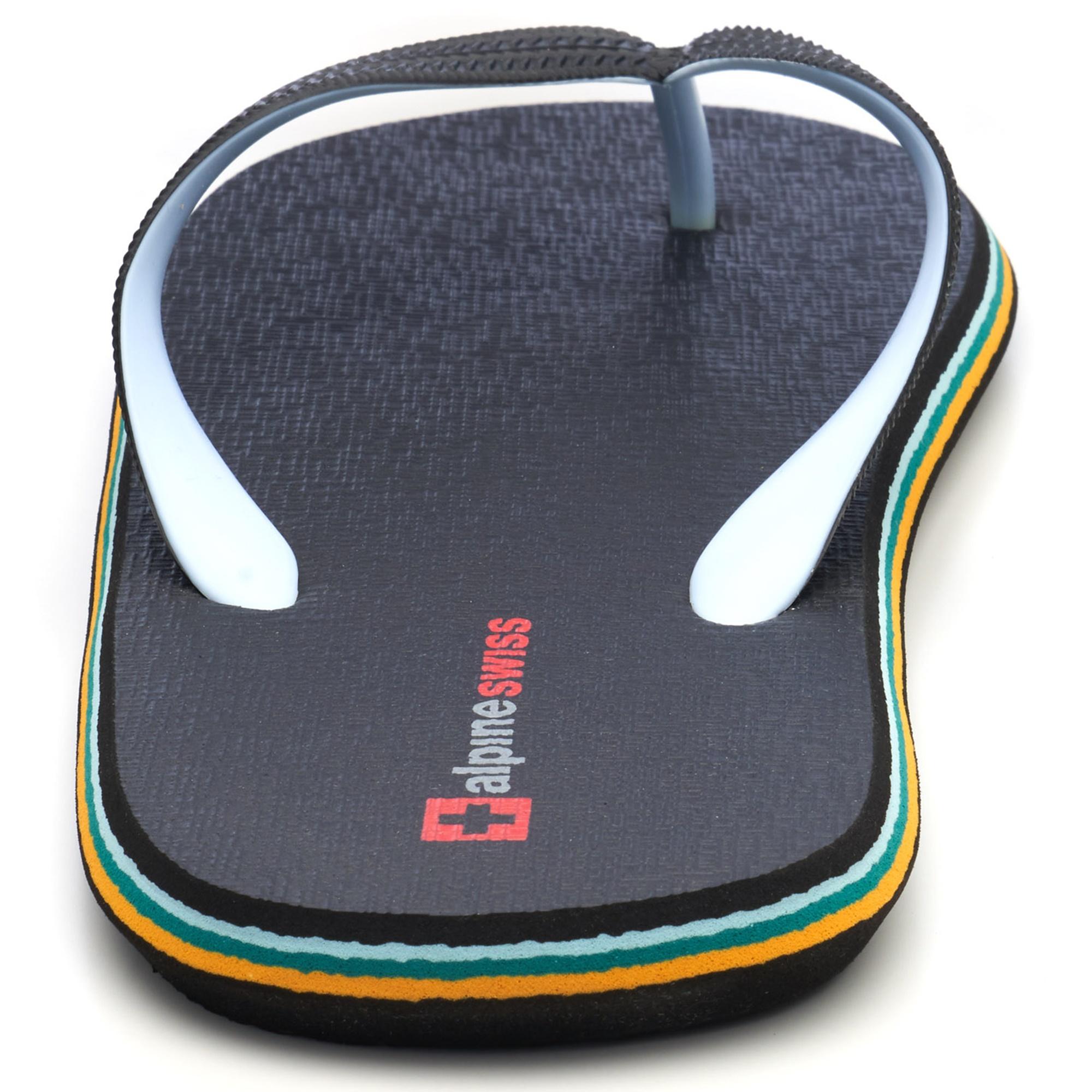 Alpine-Swiss-Mens-Flip-Flops-Beach-Sandals-Lightweight-EVA-Sole-Comfort-Thongs thumbnail 22