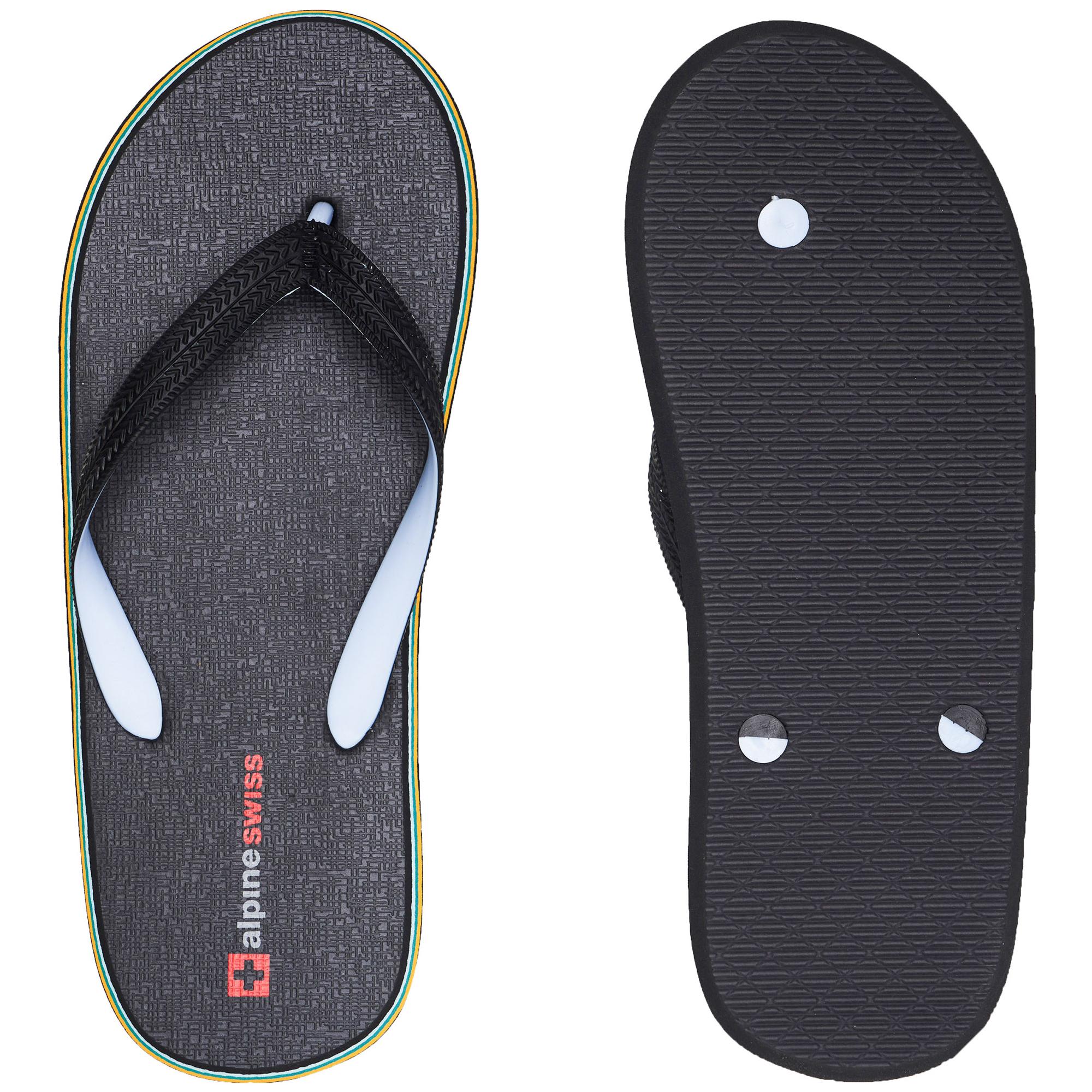 Alpine-Swiss-Mens-Flip-Flops-Beach-Sandals-Lightweight-EVA-Sole-Comfort-Thongs thumbnail 21