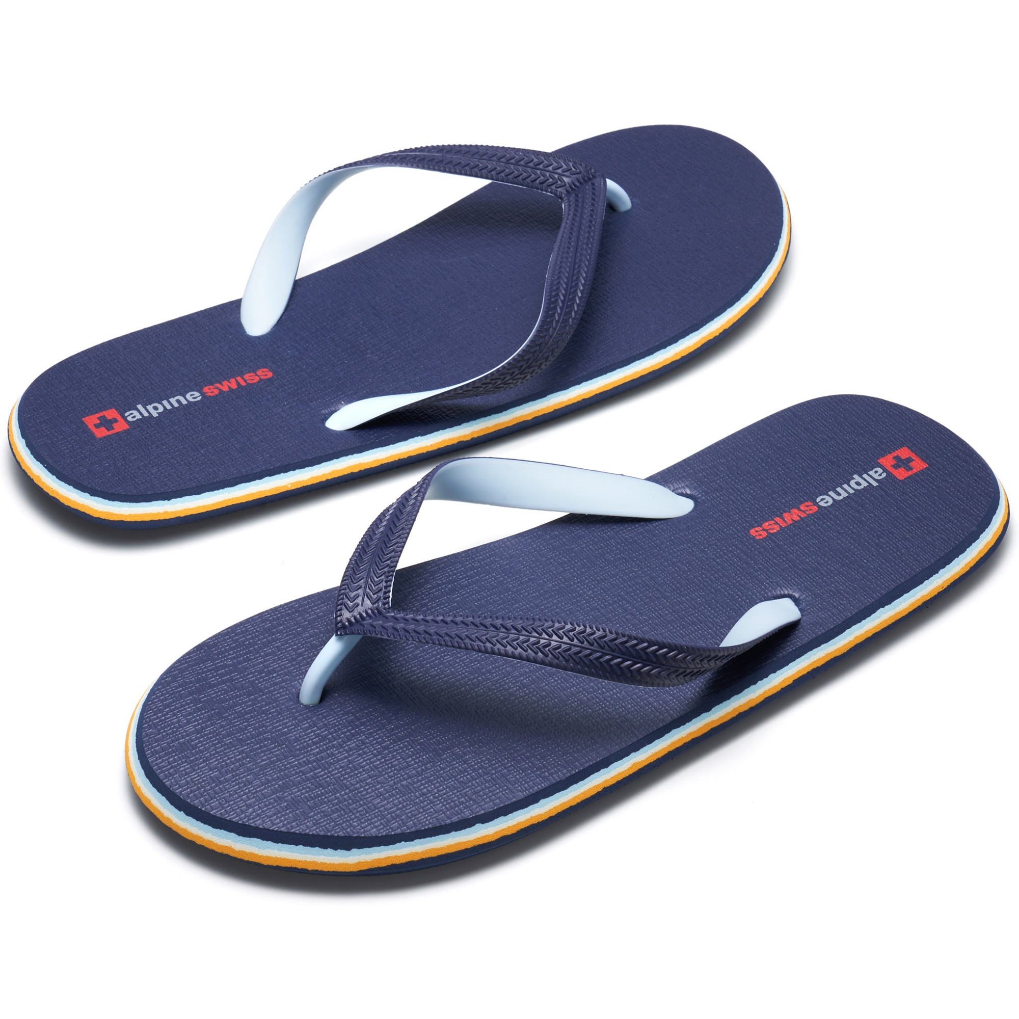Alpine-Swiss-Mens-Flip-Flops-Beach-Sandals-Lightweight-EVA-Sole-Comfort-Thongs thumbnail 25