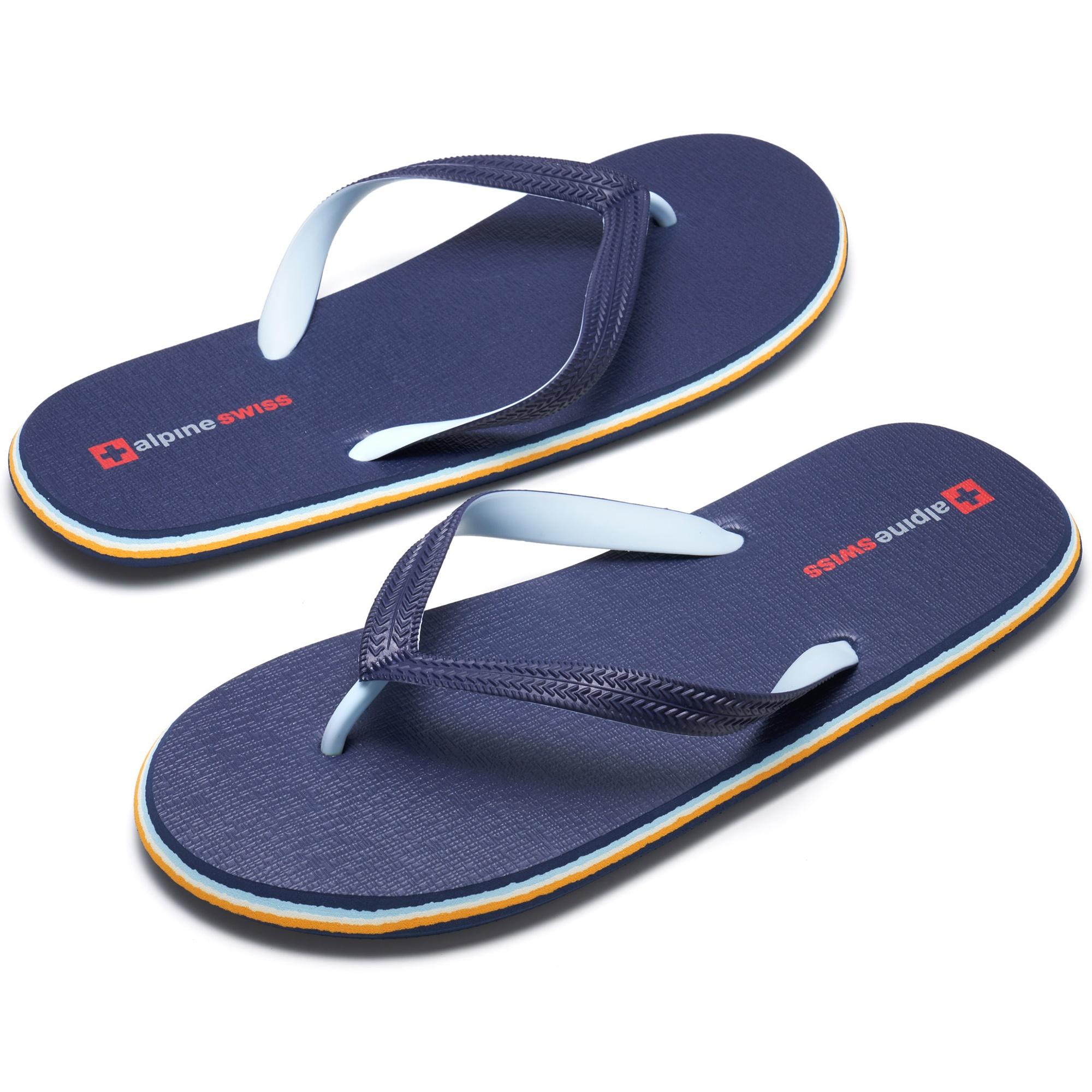 Alpine-Swiss-Mens-Flip-Flops-Beach-Sandals-Lightweight-EVA-Sole-Comfort-Thongs thumbnail 25