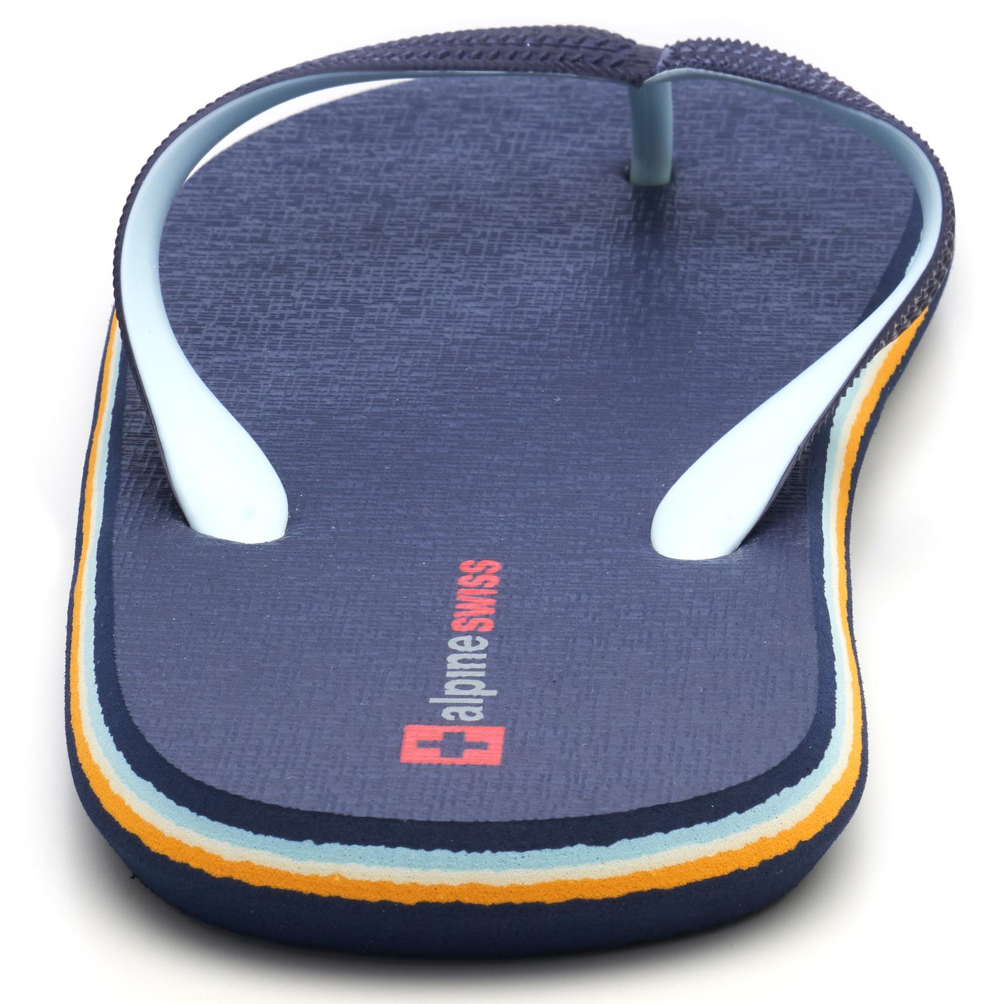 Alpine-Swiss-Mens-Flip-Flops-Beach-Sandals-Lightweight-EVA-Sole-Comfort-Thongs thumbnail 32