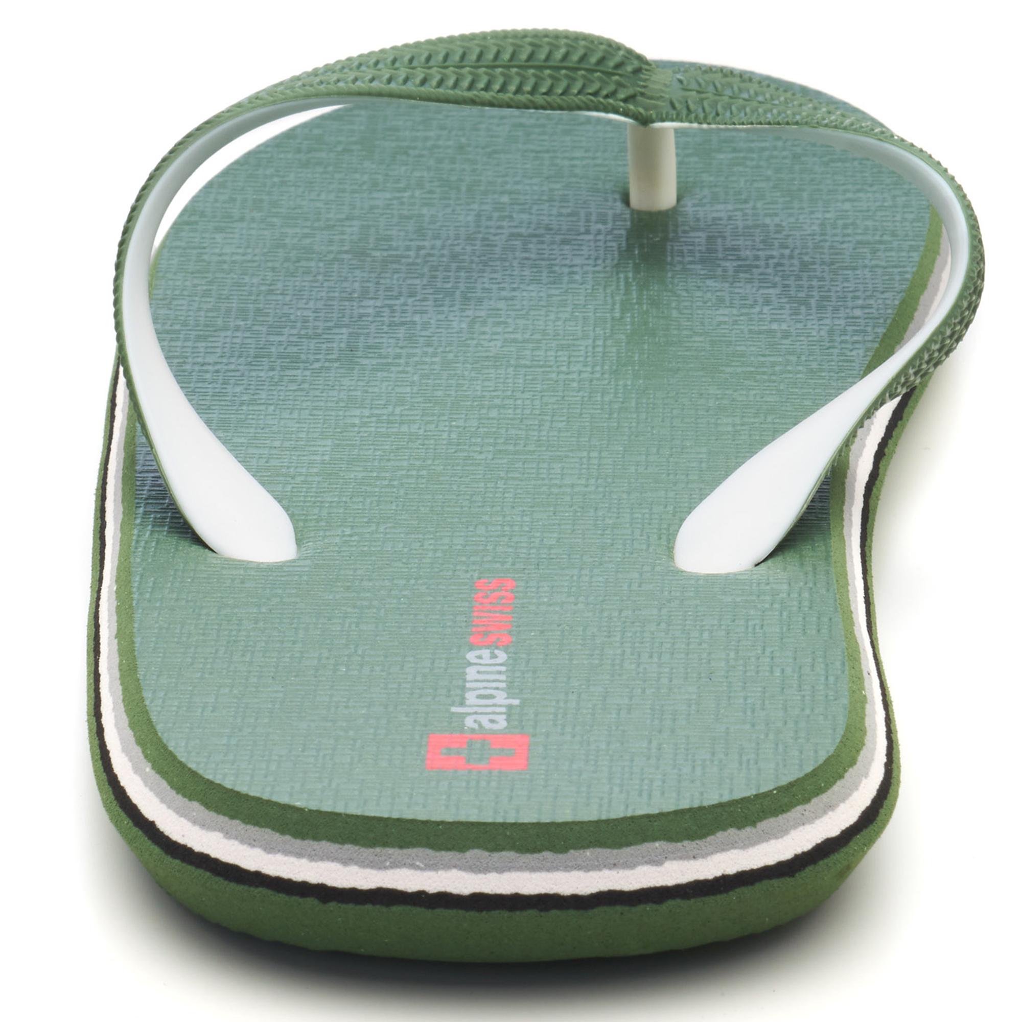 Alpine-Swiss-Mens-Flip-Flops-Beach-Sandals-Lightweight-EVA-Sole-Comfort-Thongs thumbnail 42